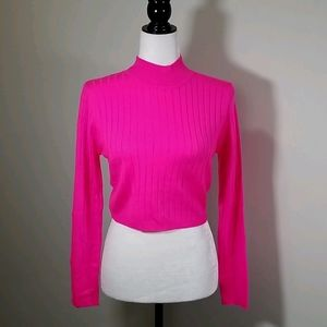 Runaway The Label Trippin Sweater Neon Pink